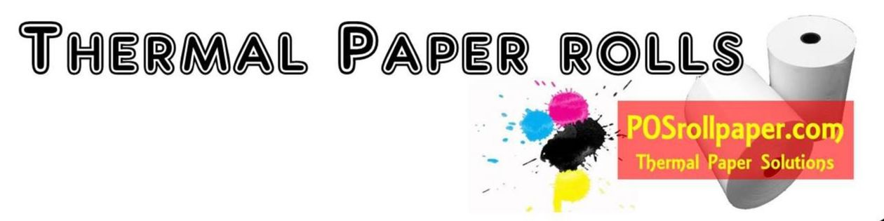 Thermal Paper Rolls - POS Roll Paper